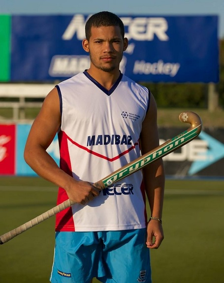 Mecer Madibaz midfielder Chad Cairncross received his call-up to the South African men's hockey squad following the interprovincial tournament in Durban last week. Photo: Supplied