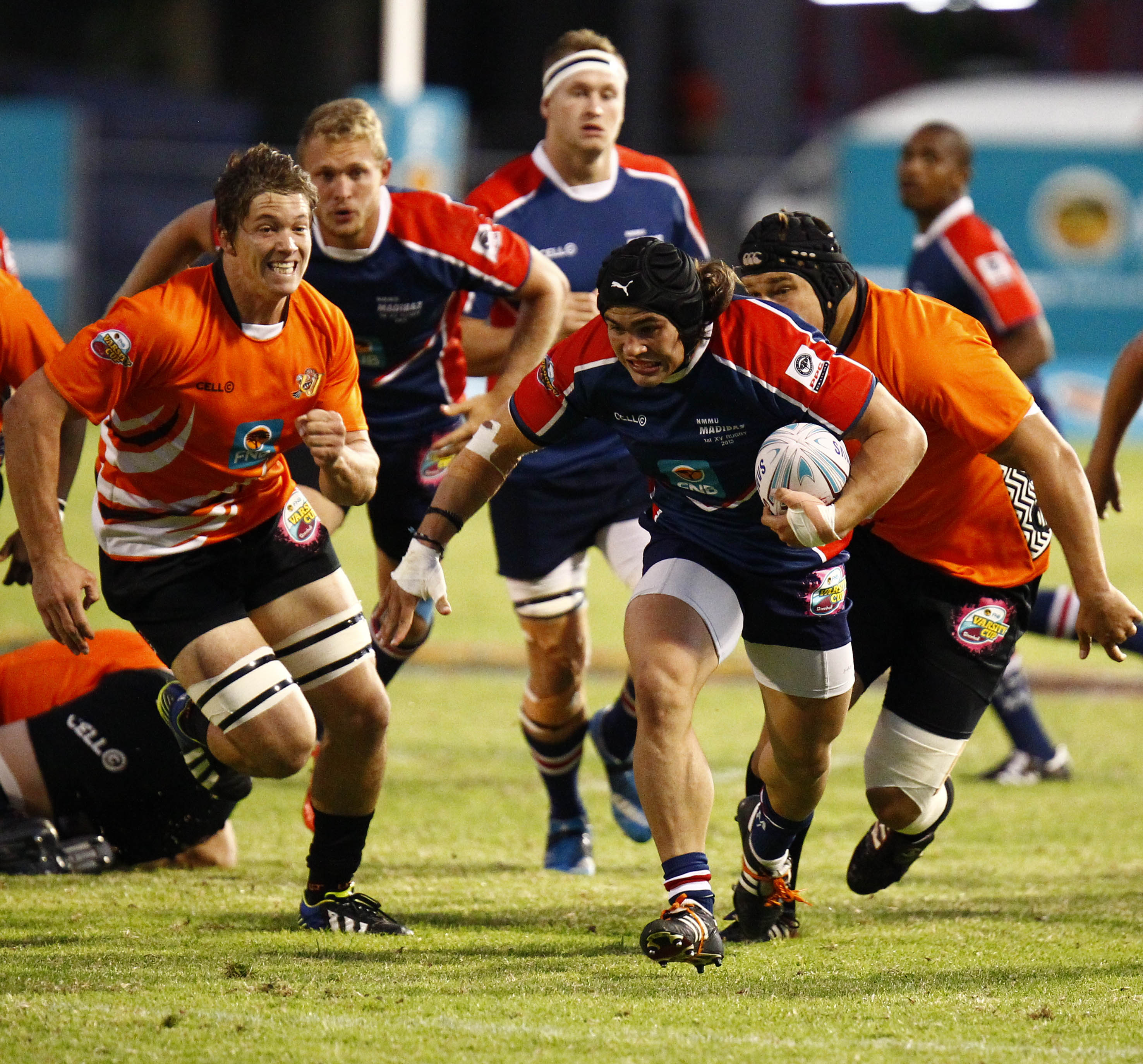 Madibaz vice-captain CJ Velleman will be winging his way to Argentina this week for the Junior Springboks' warm-up tour. The open-side flanker is aiming to earn a permanent place in the squad ahead of the World Rugby U20 Championship in Italy in June. Photo: Saspa