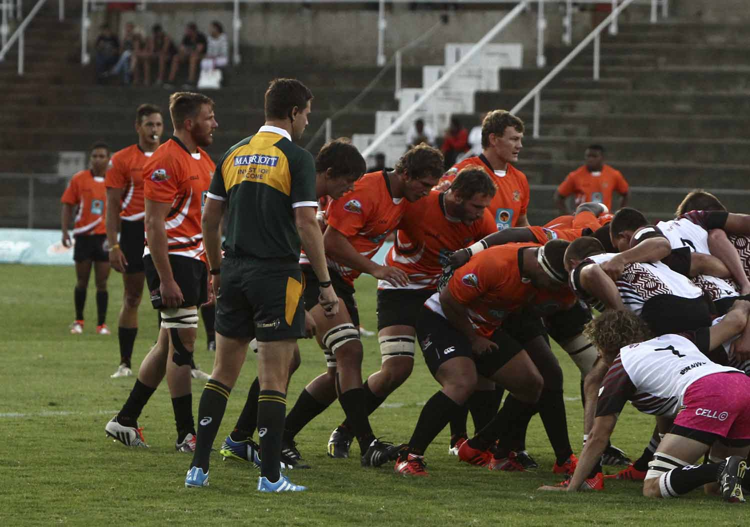 Many of the UJ senior players will return to the field for the 2016 FNB Varsity Cup tournament, bringing experience and continuity to the side. Photo: Supplied