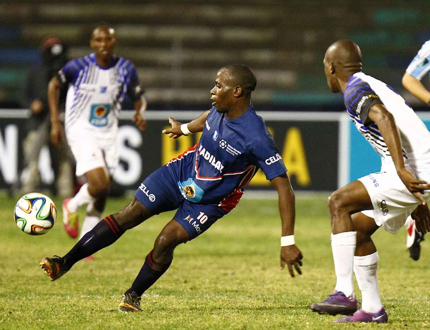 Madibaz Football Sportsman of the Year Claudius Sagandira played an important role in the team's success in 2015, leading to them winning the Pefa league title for a second consecutive year. Photo: Saspa