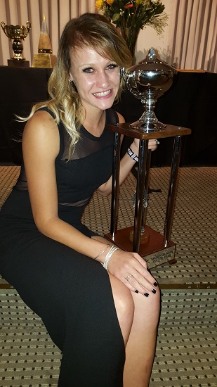 Olympics long jumper Lynique Prinsloo said she was honoured to be named the University of Johannesburg Sportswoman of the Year. Photo: Supplied