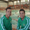 Basson twins on track for swimming Worlds