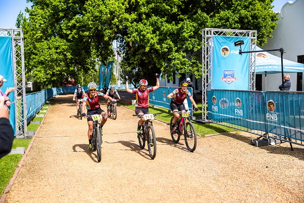 Centralised at the Nederburg wine farm, the race village in the Varsity MTB Challenge will offer entrants a luxury off the bike experience when the event takes place in Paarl on September 30 and October 1.