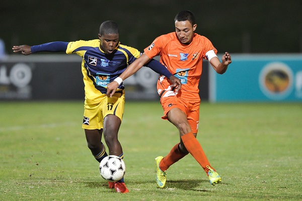 "University of Johannesburg's Dane Fortuin is ready to do ""battle"" against University of the Western Cape in their Varsity Football fixture on Thursday."