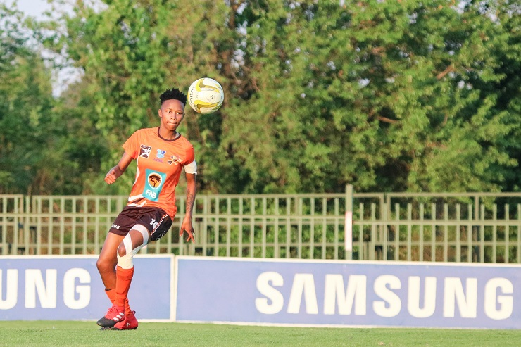 Thato Letsoso will lead the UJ women's side in their quest to reclaim the Varsity Football title when they face TUT tomorrow.