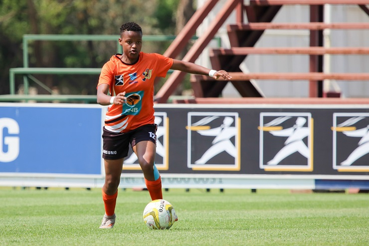 University of Johannesburg's Katlego Mabuza, an U20 national player, was a force to be reckoned with throughout the Varsity Women's Football tournament.