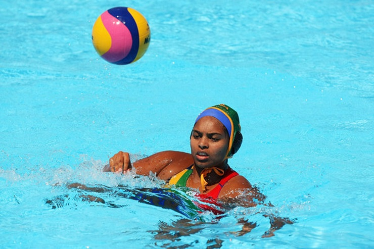 Madibaz water polo coach Delaine Christian has made a big impact on the sport at Nelson Mandela University this year.