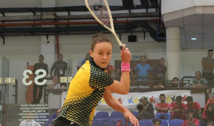 University of Johannesburg squash star Alexa Pienaar