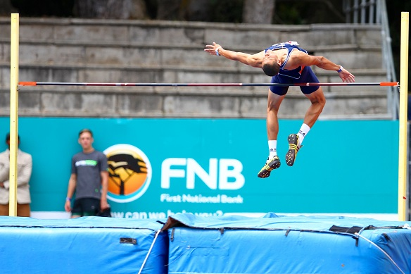 High jumper Garth Ellis will be in action for the Madibaz when the first Eastern Province Athletics meeting of the new season takes place at the NMMU South Campus in Port Elizabeth on Saturday, October 11. Photo: Richard Huggard