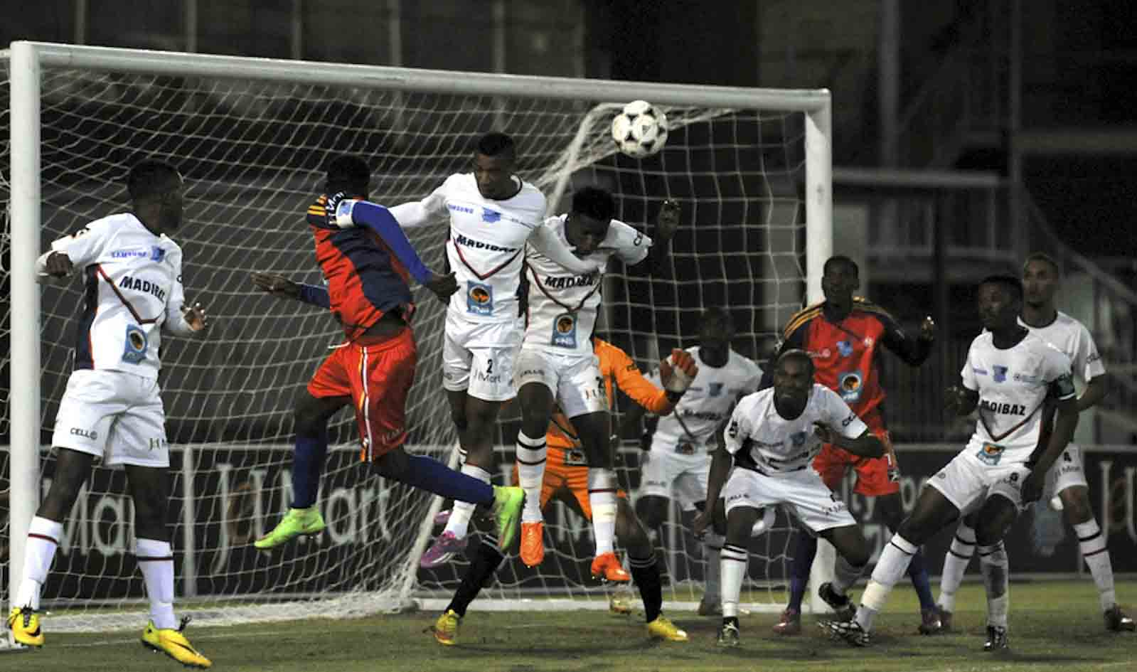 The Madibaz have vowed to continue the fight in this year's Varsity Football competition after a narrow 1-0 defeat by TUT on Monday night. Photo: Catherine Kotze/Saspa