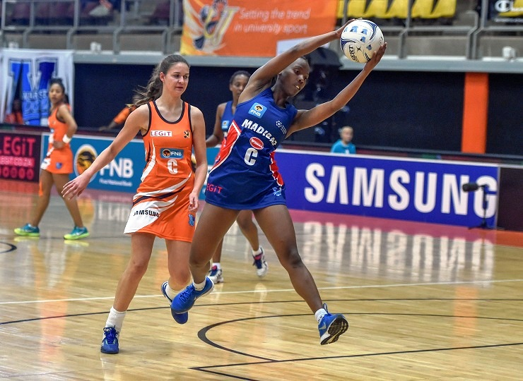 Nandipha Jack will lead the SPAR Madibaz netball team in the fifth edition of the Varsity Netball tournament that starts next week.