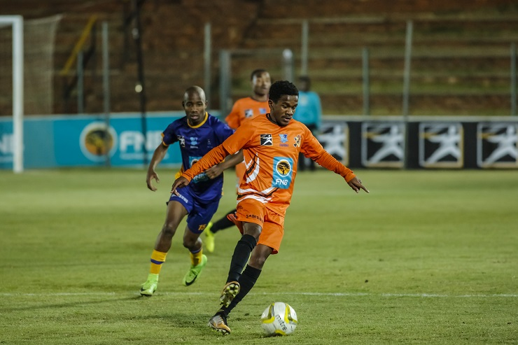 University of Johannesburg's Tebogo Mandyu is chasing more goals in the Varsity Football tournament this season after hitting their winner in the game against UP-Tuks.