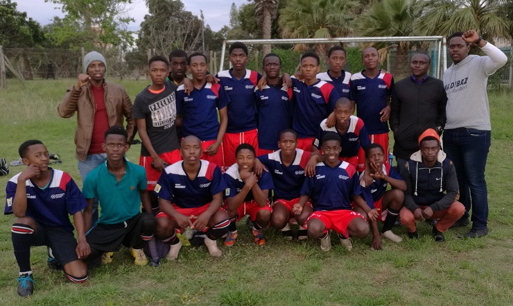 The Madibaz Football Club U16 team won three trophies in a successful run in the local competitions this year.