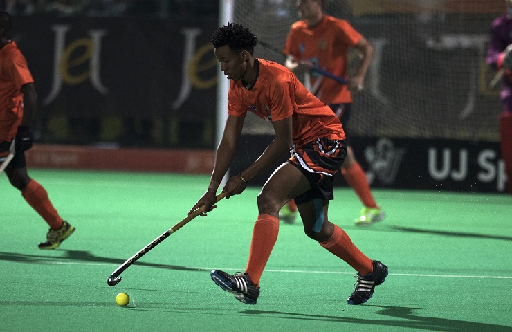 University of Johannesburg hockey star Tyson Dlungwana is in the South African senior squad to compete in the Africa Cup, which starts in Ismailia, Egypt, on Sunday.
