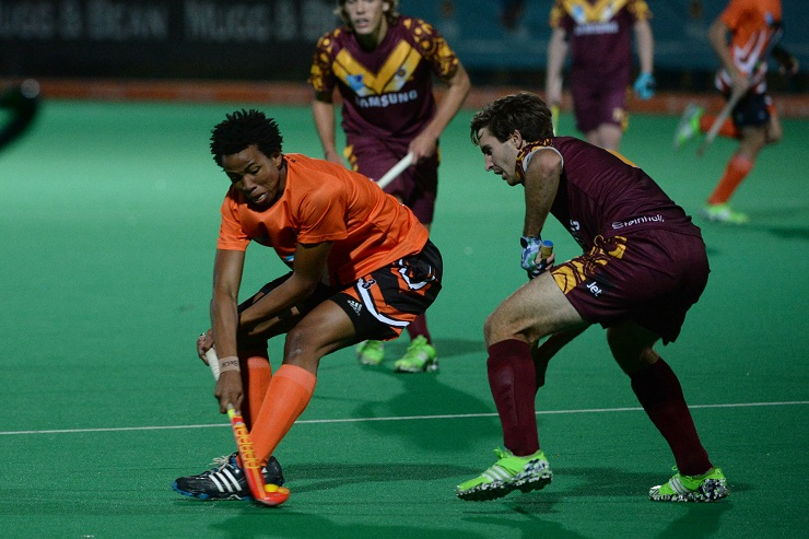 University of Johannesburg hockey star Tyson Dlungwana has set his sights on keeping his place in the national squad for the Commonwealth Games and World Cup next year.