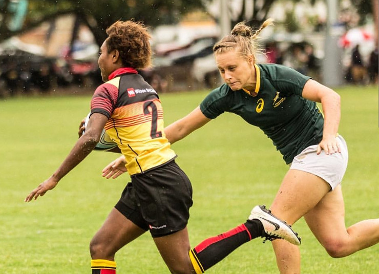 Eloise Webb - Madibaz rugby player and Nelson Mandela University student