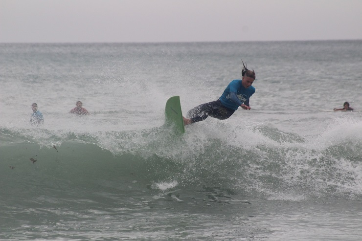 Greg Cuthbert Madibaz surfing