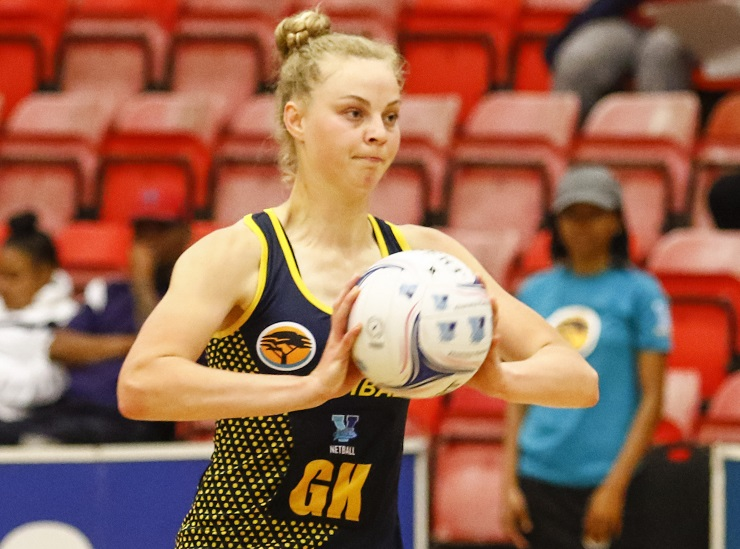 SPAR Madibaz captain Jeanie Steyn is looking forward to taking on UP-Tuks in the semifinals of the Varsity Netball