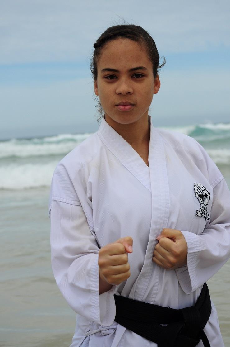 Madibaz karateka Adre Weideman