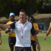 Madibaz rugby coach Jarryd Buys