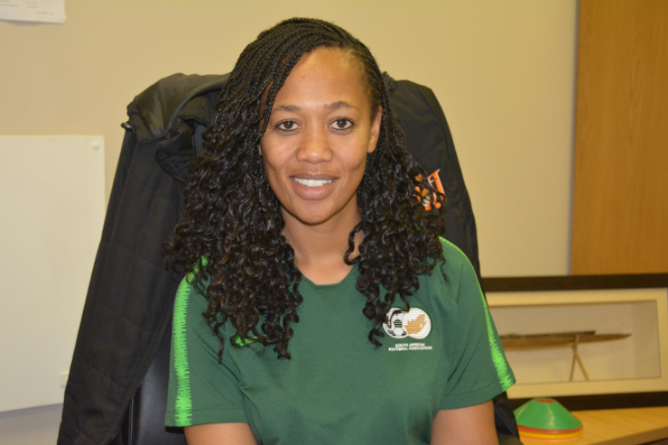 Minky Tshabalala UJ sport