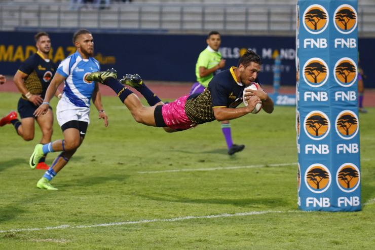 Riaan Esterhuizen Madibaz rugby