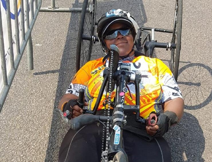 Palesa Manaleng UJ cycling