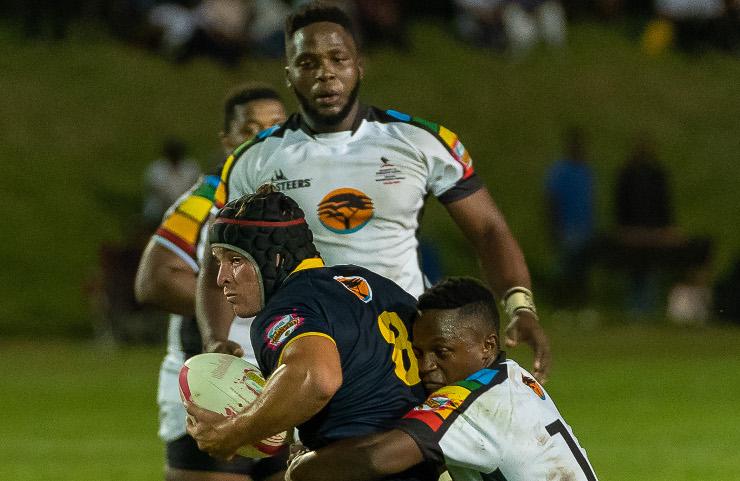 Bevan Prinsloo of Madibaz rugby