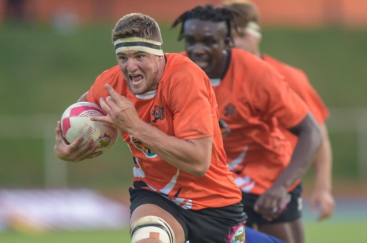 UJ rugby Adriaan Bester