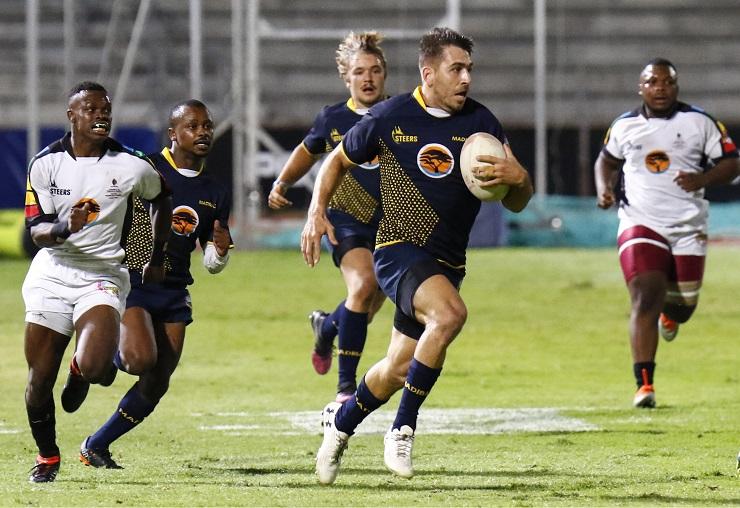 Riaan Esterhuizen of Madibaz rugby