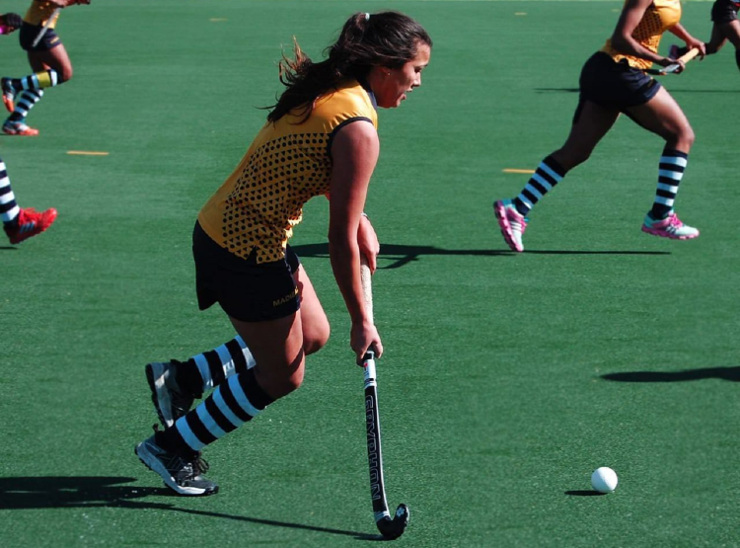 Caitlyn Gouws Madibaz Varsity Hockey