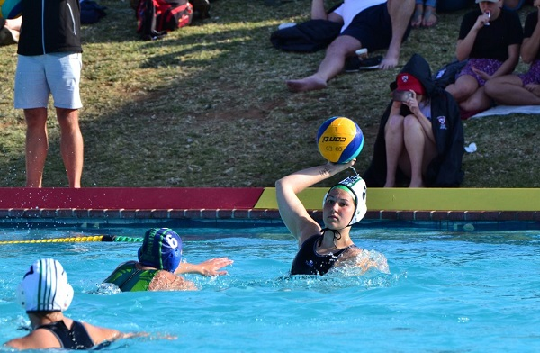 Madibaz water polo Casey Mcleavy