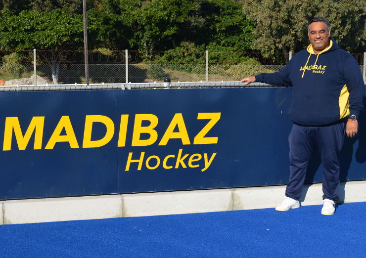Cheslyn Gie Madiabz hockey manager and coach