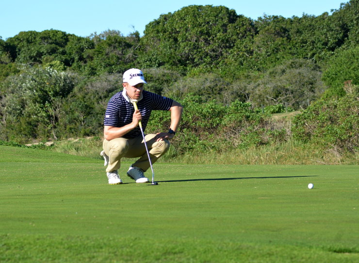 Kyle de Beer Madibaz golfer