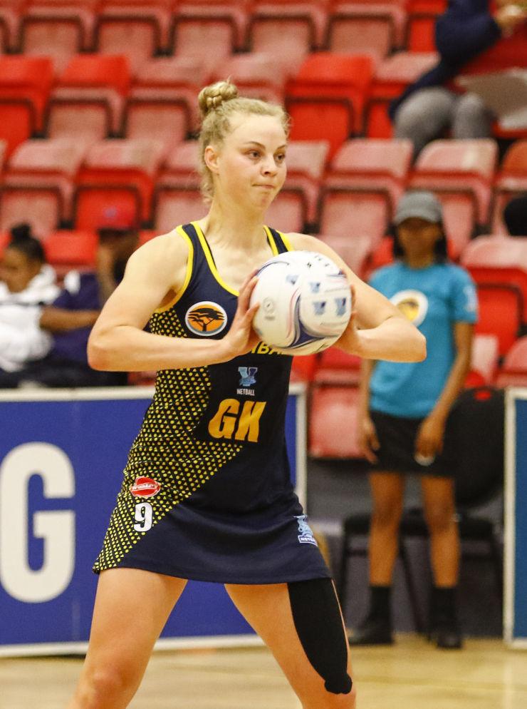 Jeanie Steyn Madibaz netball