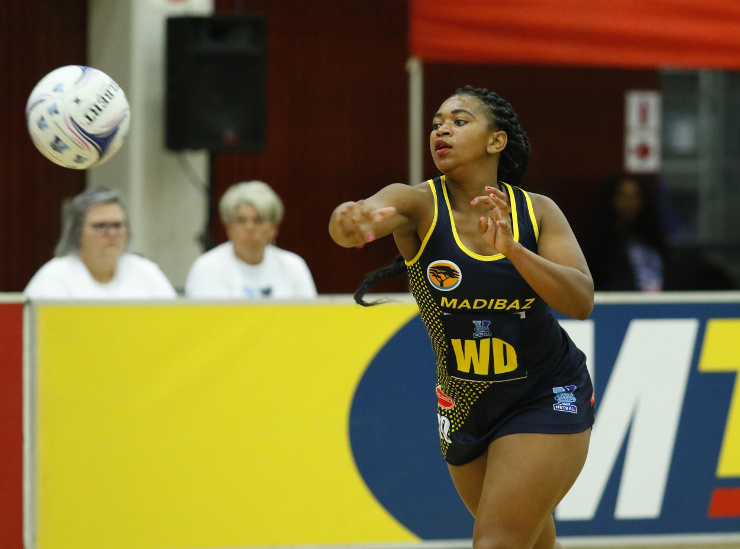 Noluthando Maliehe - Madibaz netball