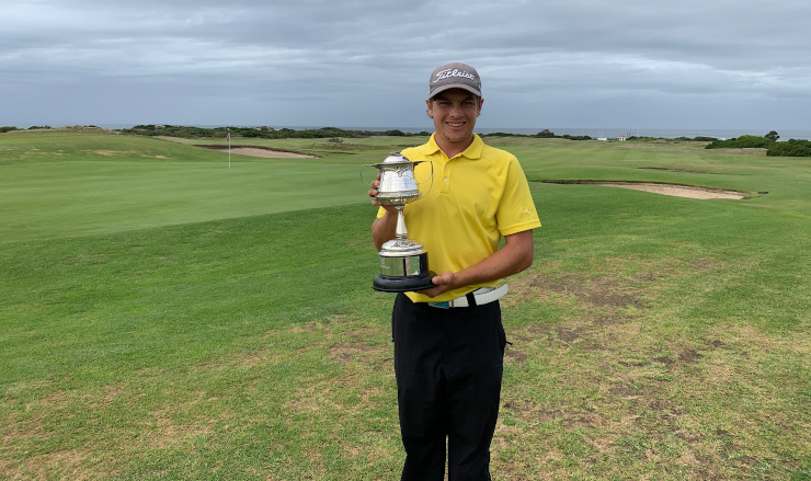 Madibaz golfer JP van der Watt was crowned the A division champion in the Humewood Golf Club championships
